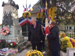 Salut des portes drapeaux