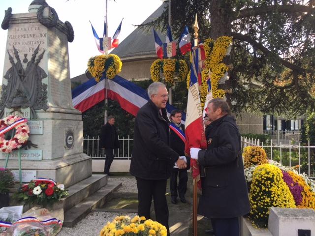 Villeneuve le Roi le 11 novembre 2016