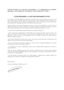 lettre ouverte Brassens